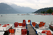 Europe, france, french, annecy, alp, alps, french alps, boat, boats, boating, lake, lakes, lake annecy, annecy lake, paddleboat, paddleboats, jetty, jetties.