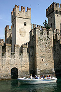 Europe, italy, italian, northern, northern italy, lombardy, brescia, sirmione, garda, lake garda, lake, lakes, architecture, castle, castles, scaliger, scaliger castle, fort, forts, fortress, fortresses.