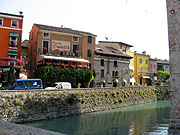Europe, italy, italian, northern, northern italy, lombardy, brescia, sirmione, garda, lake garda, lake, lakes, architecture, castle, castles, scaliger, scaliger castle, fort, forts, fortress, fortresses, moat, moats, shop, shops.