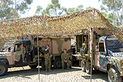 Australia, south australia, sa, army, armed forces, men, man, male, males, occupation, occupations, vehicle, vehicles, soldier, soldiers, australian army, camp, camps, army camp, army camps, camouflage, camouflages, camouflaged, military, defence, defence forces, armed servicesPB10,