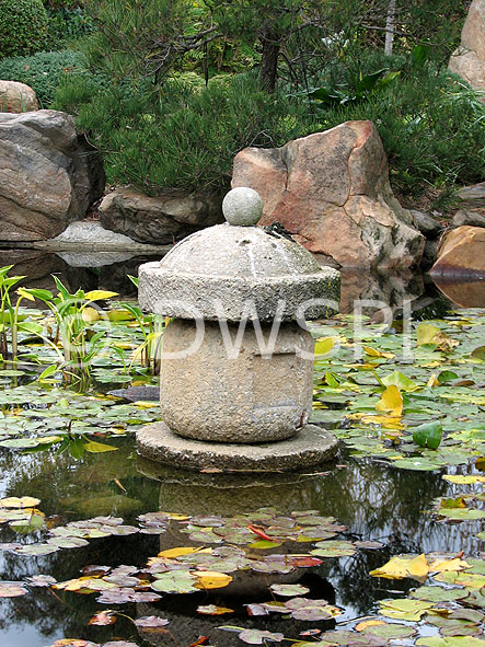 Pagoda in lilypond in the japanese gardens adelaide for Garden water features adelaide