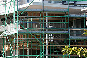 Australia, qld, queensland, gold coast, scaffold, scaffolds, scaffolding, industry, construction, construction industry, building industry, construction site, constructions sites, building site, building sites, house, houses, housing.