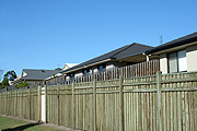 Australia, qld, queensland, gold coast, fence, fences, house, houses, housing, estate, estates, housing estate, housing estates, roof, roofs, rooves.