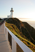 Architecture, Australia, New South Wales, fence, fences, Byron Bay, DFF, DFFGEN, Cape Byron, Byron Bay lighthouse, Cape Byron Lighthouse, lighthouse, lighthouses, navigation, navigational aid, navigational aids, lightstation, lightstations.