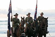 Australia, Australians, qld, queensland, currumbin, People, man, men, male, males, medal, medals, Anzac, Anzacs, Anzac Day, Anzac Days, animal, animals, horse, horses, uniform, uniforms, flag, flags, australian, australian flag, australian flags, bridle, bridles, hat, hats.