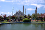 Turkey, instanbul, architecture, mosque, mosques, hagia, st sophia, st sophia mosque, saint sophia mosque, dome, domes, pond, ponds, BS65,