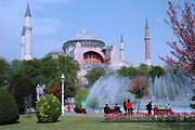 Turkey, instanbul, architecture, mosque, mosques, hagia, st sophia, st sophia mosque, saint sophia mosque, dome, domes, fountain, fountains, BS65,