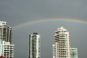 Australia, qld, queensland, gold coast, rainbow, rainbows, architecture, high-rise, apartment, apartments, flat, flats, condo, condos, condominium, condominiums.