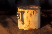 Australia, New South Wales, camp, camps, camping, mug, mugs, cup, cups, rust, rusted, rusting.