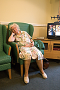 People, woman, women, people, woman, women, aged care, aged care facility, aged care facilities, female, females, old, aged, elderly, old woman, old women, elderly woman, elderly women, pensioner, pensioners, nursing home, nursing homes, chair, chairs, Australia, Sport pictures, Sports, balloon images, hot air balloons