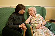 People, woman, women, people, woman, women, aged care, aged care facility, aged care facilities, female, females, old, aged, elderly, old woman, old women, elderly woman, elderly women, pensioner, pensioners, nursing home, nursing homes, bedroom, bedrooms, bed, beds, indoors, Australia, Sport pictures, Sports, balloon images, hot air balloons