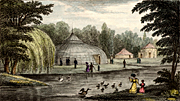 History, england, london, britian, surrey, engraving, engravings, shepherd, thomas shepherd, thomas hosmer shepher, zoo, zoos, zoological garden, zoological gardens, walworth, Edward Cross,