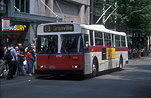 Transport, transportation, vehicle, vehicles, bus, buses, trolley bus, trolley buses, Vancouver, british columbia, Canada.