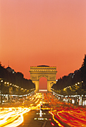 France, Paris, ARCH DE TRIOMPHE, CHAMPS ELYSEES, arch, arches, archway, archways, architecture, AB67,