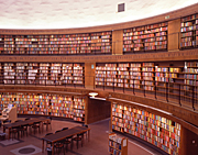 Sweden, stockholm, city library, library, libraries, book, books, paper, AB67,