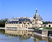 France, architecture, chateau, chateaus, chantilly, AB67,