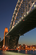 Australia, New South Wales, Architecture, Sydney, Sydney Harbour, Sydney Harbor, Sydney Harbour Bridge, bridge, bridges, harbour, harbours, dusk, DFF, DFFICONS.