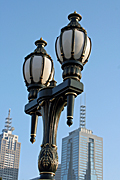 Australia, vic, victoria, melbourne, lamp, lamps, light, lights, lighting, street light, street lights, st kilda.