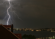 Australia, Atmosphere, Meteorology, Climate, Weather, storm, storms, electrical storm, electrical storms, lightning, nsw, new South Wales, sydney, rose bay.