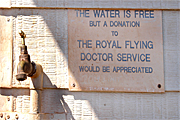 Australia, sign, signs, tank, tanks, water tank, water tanks, water, tap, taps, flying doctor, doctor, doctors, royal flying doctor, donate, donates, donation, donations, charity, charities, drought, drought scene, drought scenes, sign, signs, rainwater, rainwater tank, rainwater tanks.