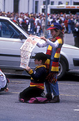 People, child, children, adelaide, sa, south australia, australia, fan, fans, adelaide crows, supporter, supporters, football fan, paper, football fans, sign, signs, hat, hats, girl, girls, boy, boys, male, males, female, females, football, football game, football games.