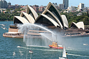 Australia, New South Wales, sydney, Australia Day, Celebration, Celebrations, Australia day celebrations, boat, boats, boating, opera house, sydney opera house, opera house, harbour, harbours, sydney harbour.