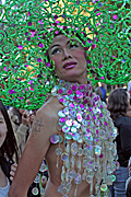 Australia, New South Wales, sydney, parade, parades, mardi gras, gay mardi gras, entertainment, festival, festivals, lesbian, lesbians, homosexual, homosexuals, gay, gays, gay and lesbian mardi gras, hat, hats, jewellery, necklace, necklaces, tatoo, tatoos.