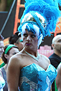 Australia, New South Wales, sydney, parade, parades, mardi gras, gay mardi gras, entertainment, festival, festivals, lesbian, lesbians, homosexual, homosexuals, gay, gays, gay and lesbian mardi gras, jewellery, necklace, necklaces, feather, feathers.