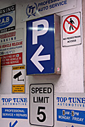 Australia, New South Wales, sydney, sign, signs, carpark, carparks, parking, speed, speed sign, speed signs.