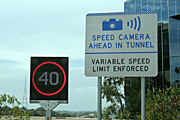 Australia, New South Wales, sydney, lane cove, tunnel, tunnels, lane cove tunnel, sign, signs, roadsign, roadsigns, road sign, road signs, camera, cameras, speed camera, speed cameras.