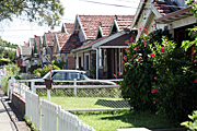Australia, New South Wales, sydney, architecture, house, houses, housing, fence, fences.