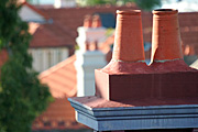 Australia, New South Wales, sydney, architecture, house, houses, housing, roof, roofs, rooves, chimney, chimneys.