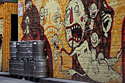 Graffiti, grafitti, deface, defaced, defacing, vandalism, vandalise, vandalisation, melbourne, vic, victoria, australia, alley, alleys, alleyway, alleyways, road, roads, wall, walls, keg, kegs, beer.