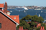 Australia, New South Wales, sydney, renzo piano, superliner, superliners, liner, liners, transport, transportation, vehicle, vehicles, ship, ships, shipping, vessel, vessels, cruise, cruises, cruising, cruise ship, cruise ships, liner, liners, cruise liner, cruise liners, lifeboat, lifeboats, pacific dawn.
