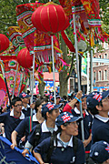 Australia, New South Wales, sydney, new year, chinese, chinese new year, chinatown, people, crowd, crowds, lantern, lanterns.