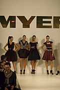 Australia, New South Wales, sydney, fashion, industry, fashion industry, clothes, clothing, catwalk, catwalks, model, models, modelling, parade, parades, mannequin, mannequins, people, woman, women, female, females, myer, myers.