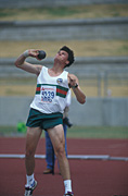 Australia, New South Wales, sydney, Sport pictures, Sports, track, track and field, shot put, athlete, athletes, athletics.