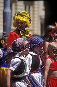 Australia, sa, south australia, adelaide, people, child, children, costume, costumes, clown, clowns, parade, parades, mask, masks.