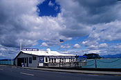 Pacific islands, new zealand, south island, nelson, boat shed, boat sheds, restaurant, restaurants, coast, coasts, coastal.