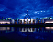 Australia, ACT, Australian Capital Territory, territory, territories, Canberra, great dividing range, cloud, clouds, sky, skies, blue sky, blue skies, parliament house, parliament houses, parliament, government, flag, flags, australian flag, australian flags, water, cloud, clouds, water.
