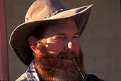Man, men, male, males, occupation, occupations, farmer, farmers, beard, beards, hat, hats, australia, akubra, akubra hat, akubra hats, portrait, portraits, people.