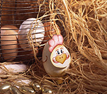 Easter, Easter scene, Easter scenes, egg, eggs, easter egg, easter eggs, straw