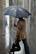Australia, New South Wales, sydney, rain, rains, raining, wet, umbrella, umbrellas, people, pedestrian, pedestrians, road, roads, sealed, sealed road, sealed roads, woman, women, female, females, path, paths, pathway, pathways.