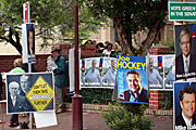 Australia, New South Wales, sydney, election, elections, electoral, vote, votes, voting, government, primeminister, prime minister, rudd, kevin rudd, supporter, supporters, sign, signs, booth, booths, poll, polling, polling booth, polling booths, sign, signs.