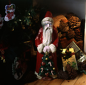 Christmas, christmas scene, christmas scenes, santa, santa clause, christmas decoration, christmas decorations, father christmas.