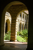 Australia, new South Wales, nsw, architecture, school, schools, high school, high schools, arch, arches, archway, archways, saint columbas high school, st columbas high school, springwood.
