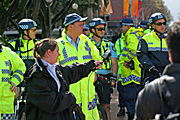 Australia, New South Wales, police, police force, emergency service, emergency services, law, law enforcer, law enforcement, law and order, sydney, people, apec, apec demonstration, demonstrator, demonstrators, demonstration, demonstrations, protest, protests, asia pacific economic cooperation.
