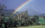 Farming, Farmland, farm, farms, climate, weather, rainbows, rainbow, Australia, Queensland, Qld, rural scene, rural scene, rural scenes, weather.
