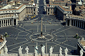 Italy, Rome, Vatican, the Vatican, Vatican city, statue, statues, pope, the pope.