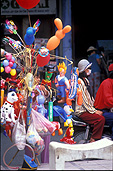 Vietnam, saigon, people, balloon, balloons, woman, women, female, females, mask, mask, pollution, air, air pollution, airpollution, toy, toys, Royalty Free Image